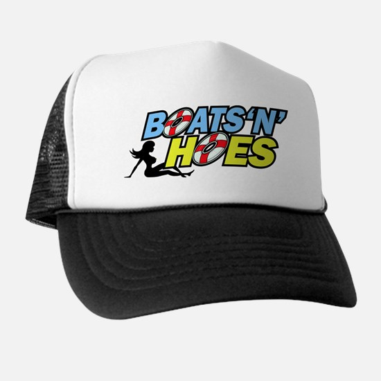 Boats N Hoes Trucker Hat