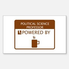 Political Science Professor Powered by Coffee Stic