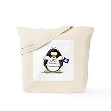 Kentucky Penguin Tote Bag
