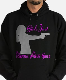 GIRLS AND GUNS Hoodie (dark)