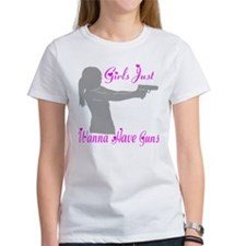 GIRLS AND GUNS Tee