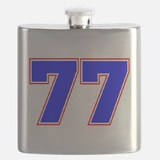 NUMBER 77 Flask