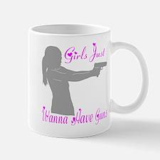 GIRLS AND GUNS Mug