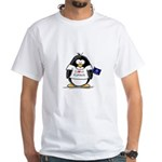Kansas Penguin White T-Shirt