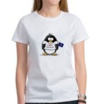 Kansas Penguin Women's T-Shirt