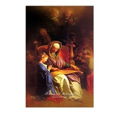 Saint Anne, Education of Mary Postcards (Package o