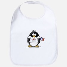 Iowa Penguin Bib