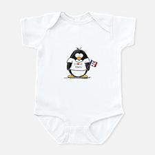 Iowa Penguin Infant Creeper