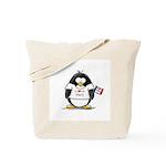 Iowa Penguin Tote Bag
