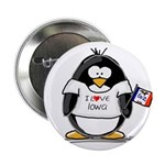 Iowa Penguin Button