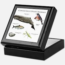 Connecticut State Animals Keepsake Box