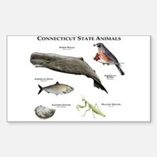 Connecticut State Animals Decal