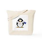 Indiana Penguin Tote Bag