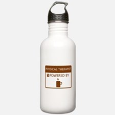 Physical Therapist Powered by Coffee Water Bottle