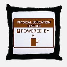 Physical Education Teacher Powered by Coffee Throw