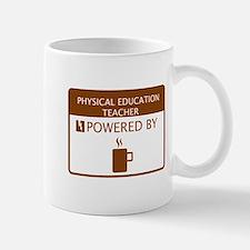 Physical Education Teacher Powered by Coffee Mug