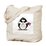 Georgia Penguin Tote Bag