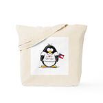 Georgia Penguin Tote Bag