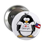 Georgia Penguin Button