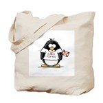 Florida Penguin Tote Bag