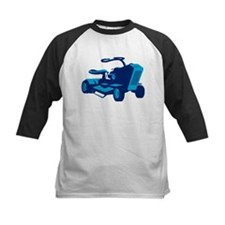 vintage ride on lawn mower retro Tee