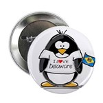Delaware Penguin Button