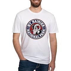 Mt Rainier Red White & Blue Shirt
