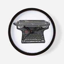 Antique Typewriter Wall Clock