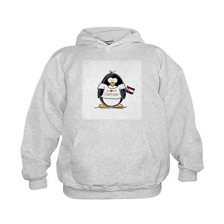 Colorado Penguin Kids Hoodie