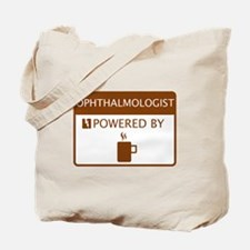 Ophthalmologist Powered by Coffee Tote Bag