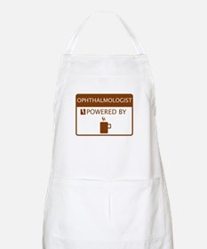 Ophthalmologist Powered by Coffee Apron