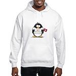 Arkansas Penguin Hooded Sweatshirt