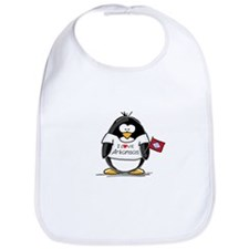 Arkansas Penguin Bib