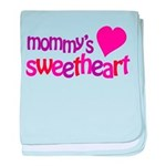 Mommy's Sweetheart baby blanket