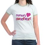 Mommy's Sweetheart Jr. Ringer T-Shirt