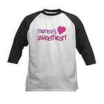 Mommy's Sweetheart Kids Baseball Jersey