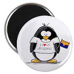 Arizona Penguin Magnet