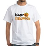 Happy Halloween White T-Shirt
