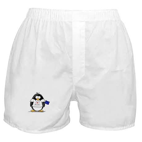 Alaska Penguin Boxer Shorts