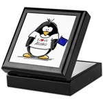 Alaska Penguin Keepsake Box