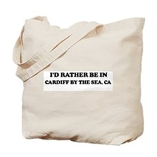 Rather: CARDIFF BY THE SEA Tote Bag