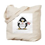 Alabama Penguin Tote Bag