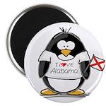 Alabama Penguin Magnet