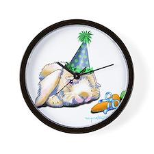 Bunny Nut-Nut clea .png Wall Clock