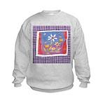 Spring Flowers Kids Sweatshirt