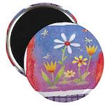 Spring Flowers Magnet