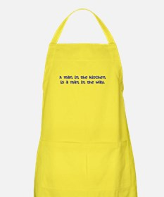 man in the kitchen Apron