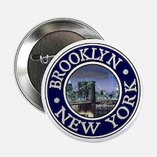 """Brooklyn 2.25"""" Button"""