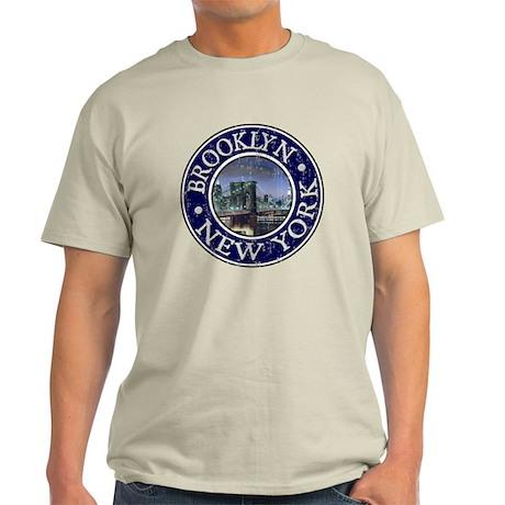 Brooklyn - Distressed Light T-Shirt