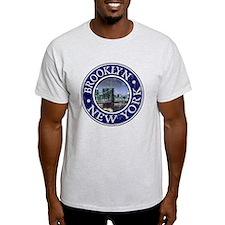 Brooklyn - Distressed T-Shirt